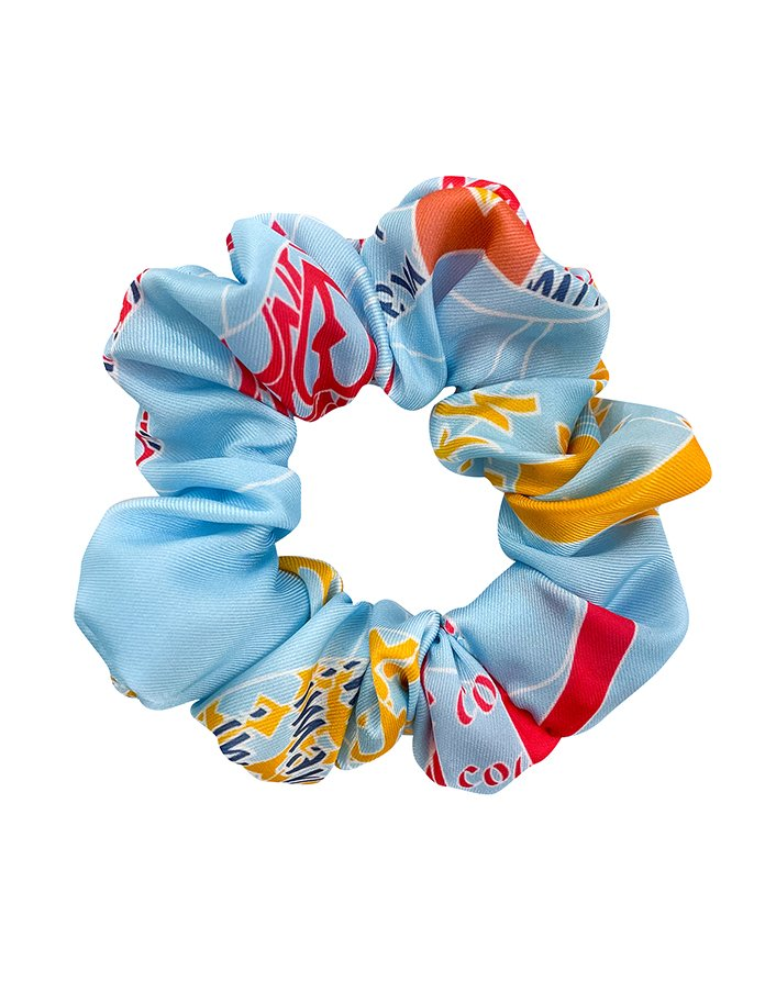 scrunchie turquoise